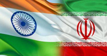 پرچم ایران و هند 2