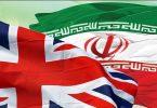 پرچم ایران و انگلیس 1